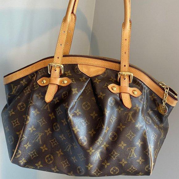 Authentic Louis Vuitton Tivoli GM Shoulder Bag
